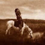 Indiens d'Amérique, de la photo au dessin