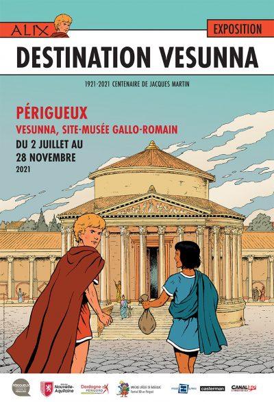 Affiche exposition Alix Vesunna